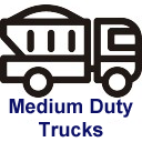 Medium Duty Truck Icon